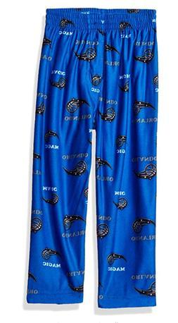 NBA Toddler Magic Sleepwear All Over Print Pant, 3T, Bright