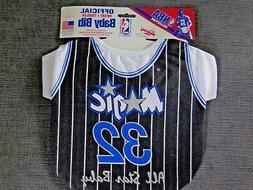 Vintage NBA Orlando Magic Shaquille O'Neal  #32 Baby Bib Jer
